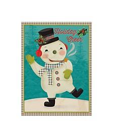 "Holli Conger Retro Christmas 3 Canvas Art - 15.5"" x 21"""