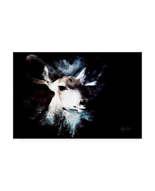 "Trademark Global Philippe Hugonnard Wild Explosion Collection - the Impala II Canvas Art - 19.5"" x 26"""