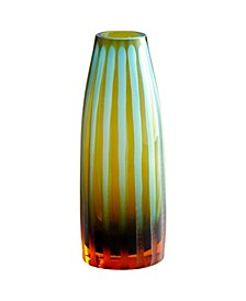 Striped Vase - Orange Collection
