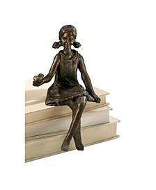 Shelf Sitter Sculpture - Bronze Collection