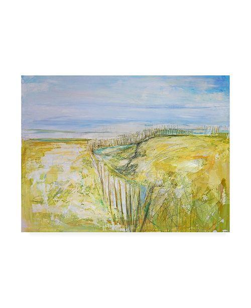"Trademark Global Mila Apperl The Beach II Canvas Art - 15.5"" x 21"""
