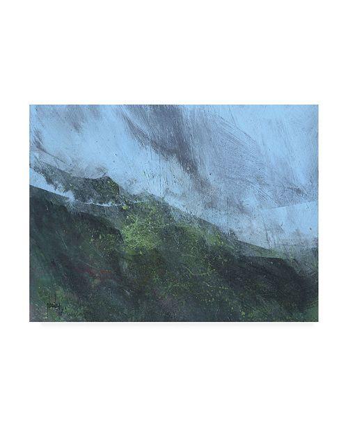 "Trademark Global Paul Baile Mountain Rain Canvas Art - 15.5"" x 21"""