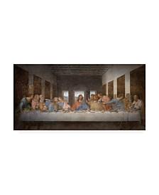 "Leonardo Da Vinci The Last Supper Da Vinci Canvas Art - 15.5"" x 21"""