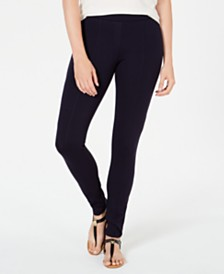Style & Co Petite Seamed Ponté Leggings, Created for Macy's