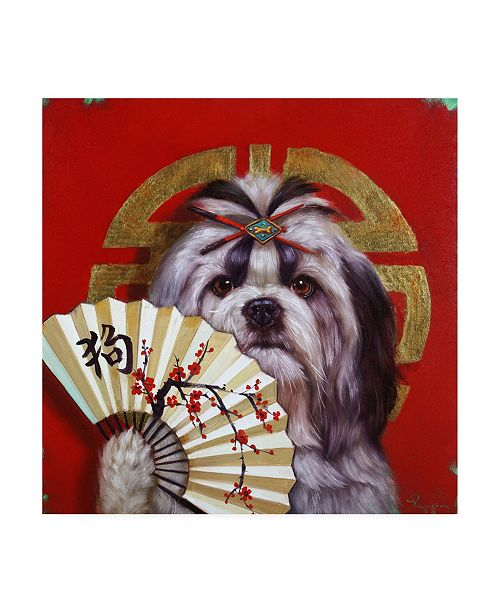 "Trademark Global Lucia Hefferna Eternal Companion Canvas Art - 36.5"" x 48"""