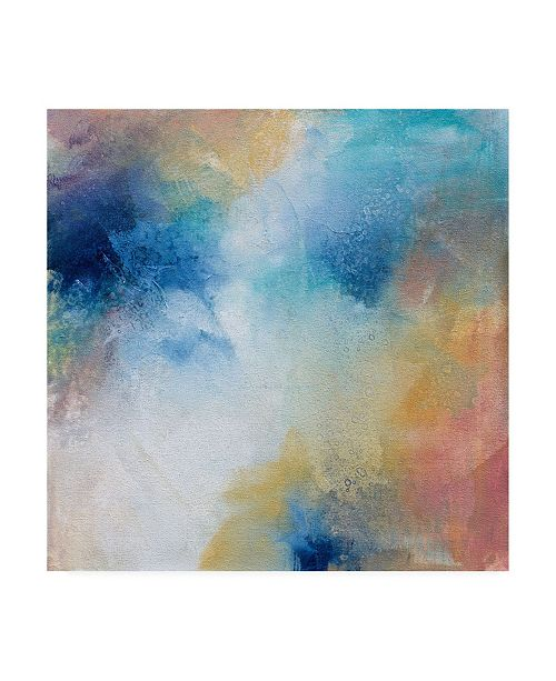 "Trademark Global Karen Hal Midsummer Canvas Art - 15.5"" x 21"""