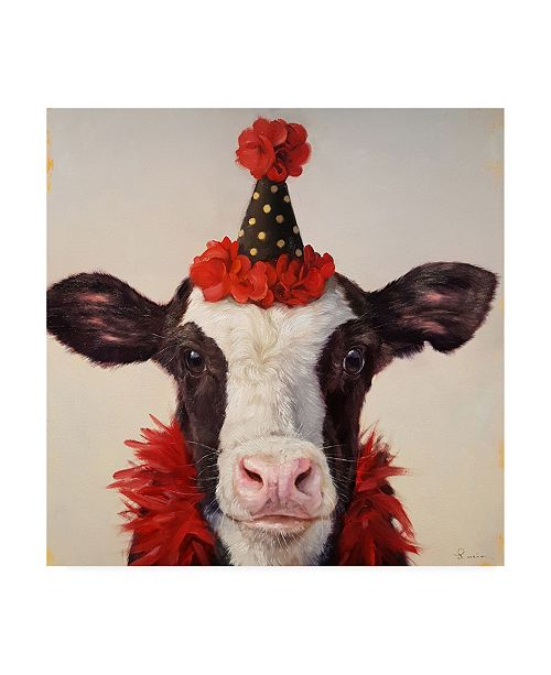 "Trademark Global Lucia Hefferna Shindig Canvas Art - 19.5"" x 26"""