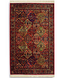 "Karastan Area Rug, Original Karastan 717 Multi Panel Kirman 2' 6"" x 12'"