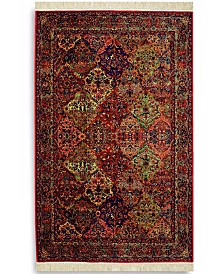 "Karastan Area Rug, Original Karastan 717 Multi Panel Kirman 4' 3"" x 6'"