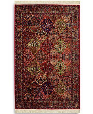 karastan area rug, original karastan 717 multi panel kirman 10' x