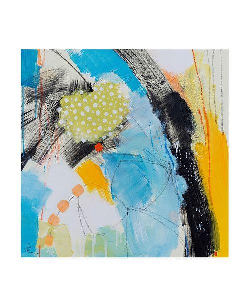"Trademark Global Ira Ivanov Ira Ivanov Paint Expression Study 13 Canvas Art - 15.5"" x 21"""