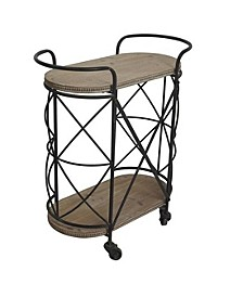 Watford Bar Cart, Quick Ship
