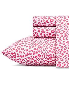 Betseys Leopard Sheet Set, Queen