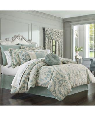 J Queen Versailles Spa King 4pc. Comforter Set
