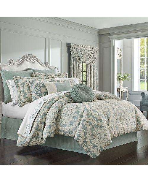 J Queen New York J Queen Versailles Spa King 4pc. Comforter Set