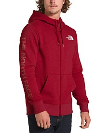 The North Face Men's Brand Proud Graphic Full Zip Hoodie