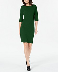 Tulip Sleeve Sheath Dress