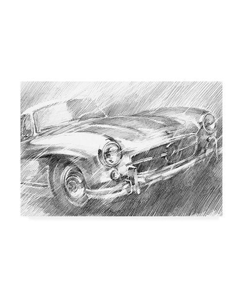 "Trademark Global Ethan Harper Sports Car Study I Canvas Art - 37"" x 49"""