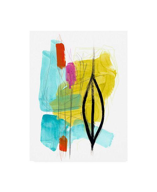 "Trademark Global June Erica Vess Fringe Aspect I Canvas Art - 15"" x 20"""