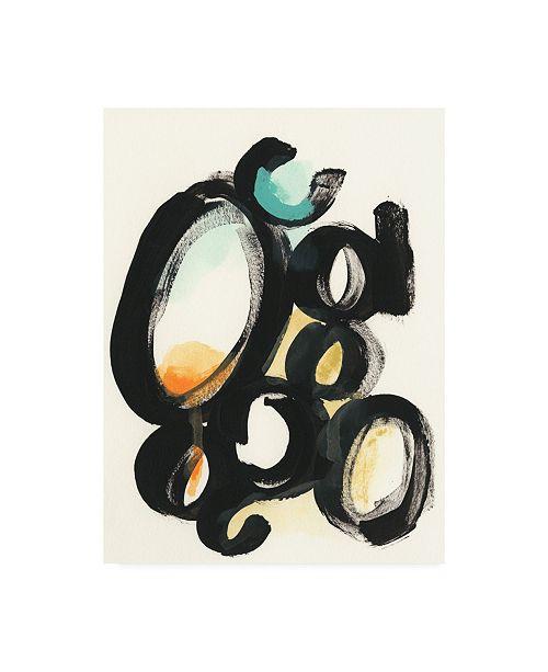 "Trademark Global June Erica Vess Cellular Structure I Canvas Art - 37"" x 49"""