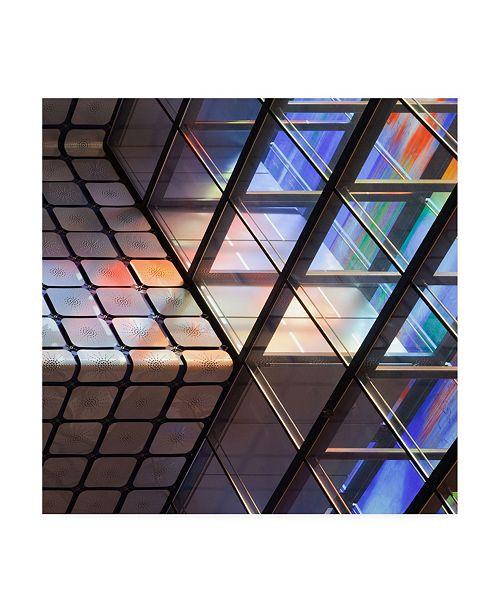 """Trademark Global Jeroen Van De Lines and Colours Canvas Art - 27"""" x 33"""""""