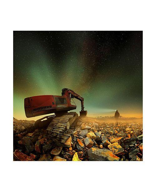 "Trademark Global Peter Majkut Goldherer Canvas Art - 27"" x 33"""
