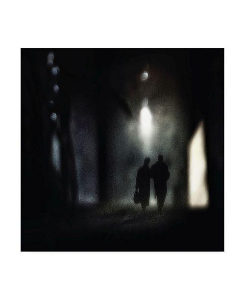 """Trademark Global Piet Flour A Very Long Walk Together Canvas Art - 15"""" x 20"""""""