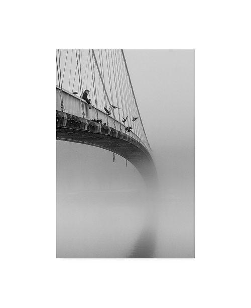 "Trademark Global Krunoslav Nevistic Breakfast Time Bridge Canvas Art - 20"" x 25"""
