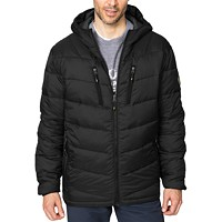 Hawke & Co. Outfitter Mens Packable Chevron Parka Deals