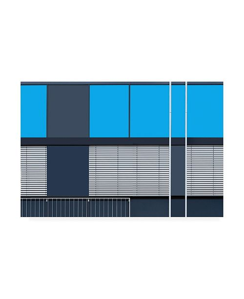 "Trademark Global Jan Niezen Asymmetric Windows Canvas Art - 20"" x 25"""