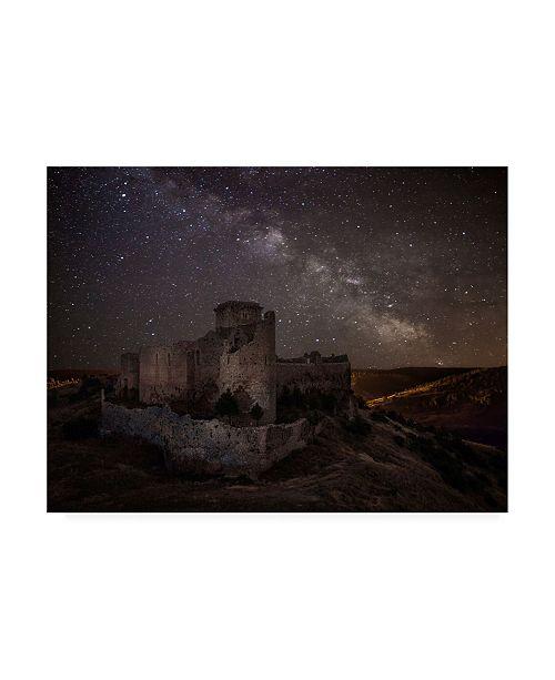"Trademark Global Martin Zalba Ucero Castle Canvas Art - 37"" x 49"""