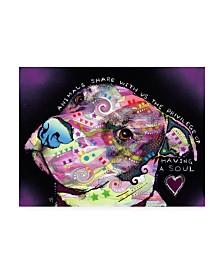 "Dean Russo Soul Stencil Canvas Art - 20"" x 25"""