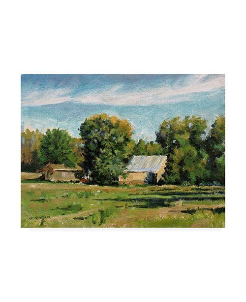 "Trademark Global Michael Budden Fall Farm Rural Canvas Art - 20"" x 25"""