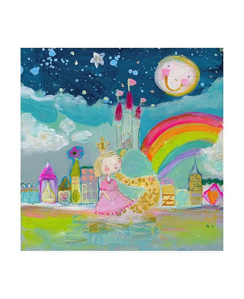 "Trademark Global Mindy Lacefield Magical Kingdom Canvas Art - 15"" x 20"""