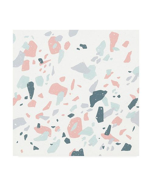 "Trademark Global Moira Hershey Terrazzo I Canvas Art - 20"" x 25"""