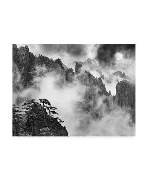 "Trademark Global Monte Nagler Huangshan Sunrise Anhui Province China Canvas Art - 15"" x 20"""