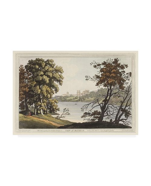 "Trademark Global Joseph Stadler View at Blenheim Canvas Art - 20"" x 25"""