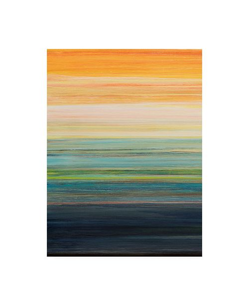 "Trademark Global Jodi Fuchs The Magic Hour I Canvas Art - 37"" x 49"""