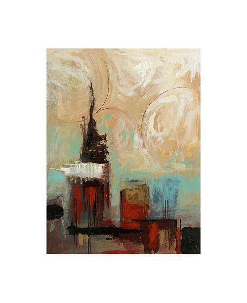 "Trademark Global Pablo Esteban Asian Influence 1 Canvas Art - 19.5"" x 26"""