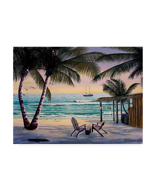 "Trademark Global Patrick Sullivan Treasure Chairs Canvas Art - 15.5"" x 21"""