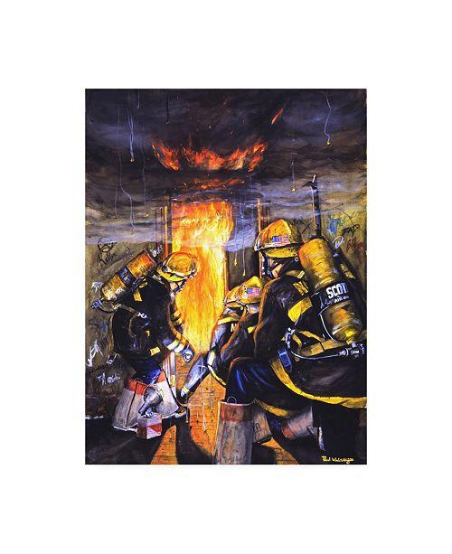 "Trademark Global Paul Walsh Devils Doorway I Canvas Art - 15.5"" x 21"""