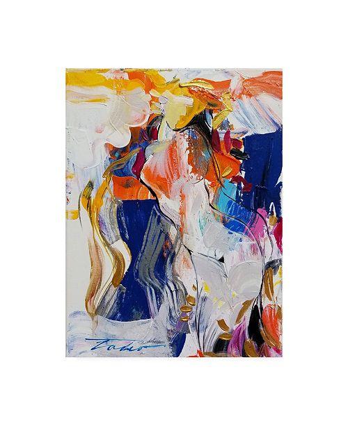 "Trademark Global Tadeo Zavaleta Nude Study I Canvas Art - 15.5"" x 21"""
