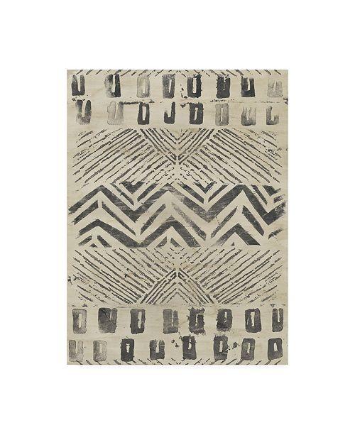 """Trademark Global June Erica Vess Pattern Bazaar II Canvas Art - 36.5"""" x 48"""""""