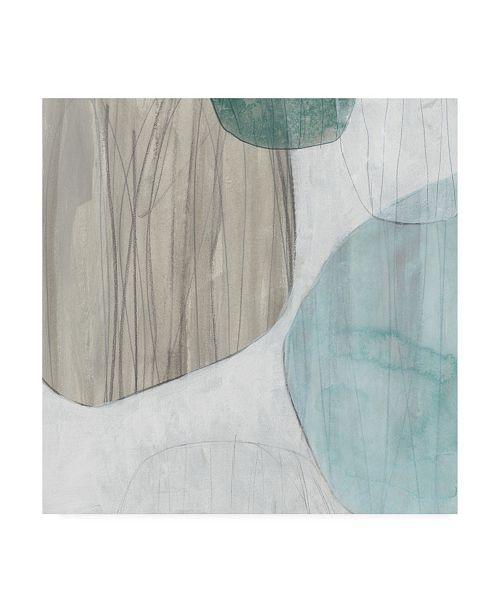 """Trademark Global June Erica Vess Waterstone III Canvas Art - 36.5"""" x 48"""""""