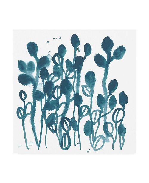 "Trademark Global June Erica Vess Boho Tropicals II Canvas Art - 19.5"" x 26"""