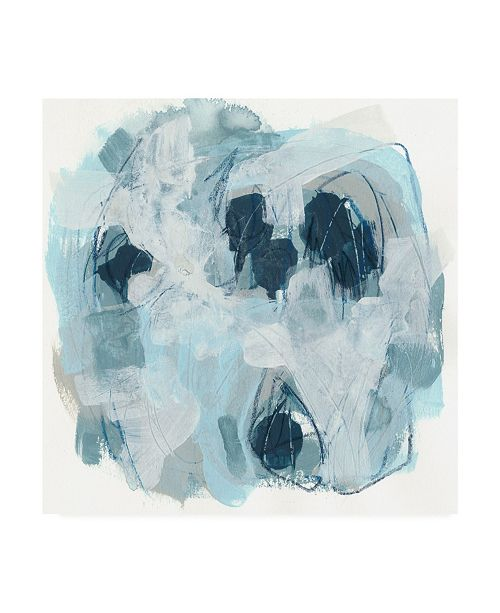 "Trademark Global June Erica Vess Blue Storm I Canvas Art - 36.5"" x 48"""