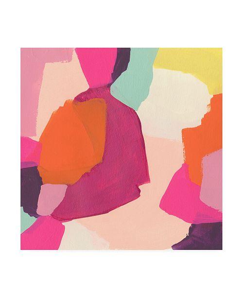 "Trademark Global June Erica Vess Pink Slip I Canvas Art - 15.5"" x 21"""