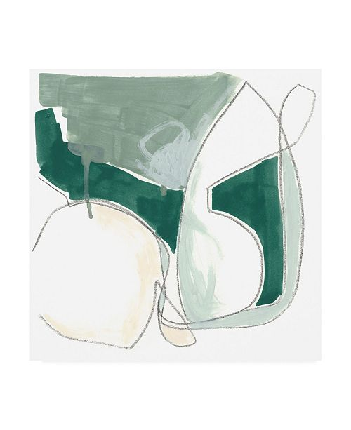 "Trademark Global June Erica Vess Idlewild II Canvas Art - 36.5"" x 48"""
