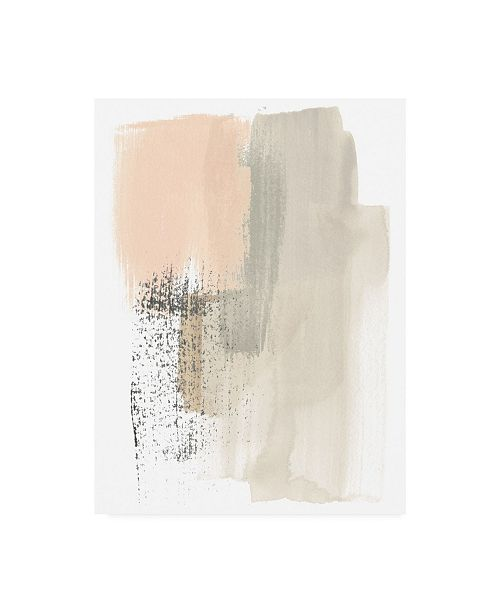 "Trademark Global June Erica Vess Blush Abstract I Canvas Art - 19.5"" x 26"""
