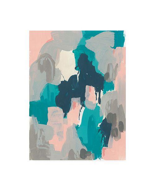 "Trademark Global June Erica Vess Sky Song I Canvas Art - 36.5"" x 48"""
